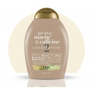 ogx fight fallout + niacin and caffeine conditioner