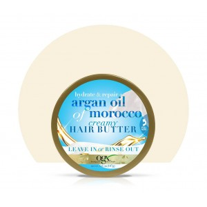 Ogx Extra Strength Hydrate & Repair + Argan Oil Of Morocco Cremy Hair Butter