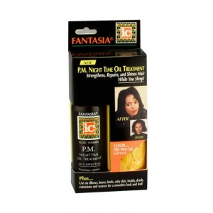ic fantasia p.m. night time oil treatment 4 oz. with night cap