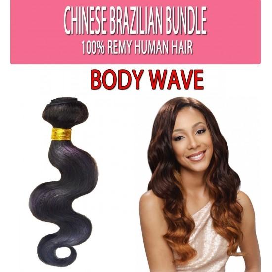 Brazilian Unprocessed 100% Virgin Remy Human Hair Weave Body Wave