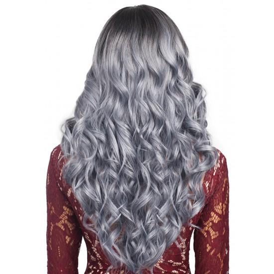 Bobbi Boss Synthetic Swiss Silk Base 4x4 Lace Front Wig Mlf174 Issa