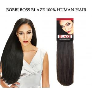 Bobbi Boss Blaze Natural Yaki 100% Human Hair Weave Combo Pack