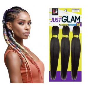 Bobbi Boss Jumbo Braid Pre Stretched 3x Just Glam 65""