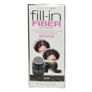 Cover Your Gray Fill-in Fiber With Procapil Black 0.42oz