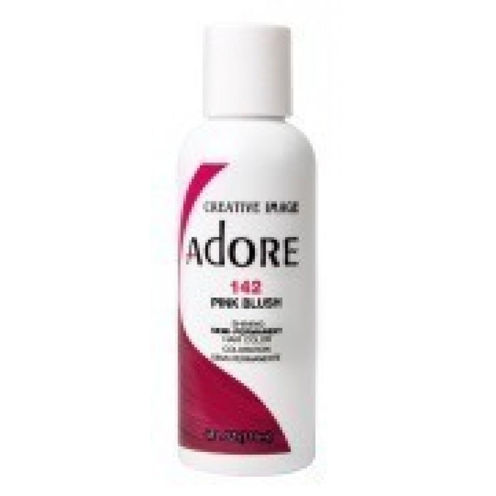 Adore Semi Permanent Hair Color 142 Pink Blush