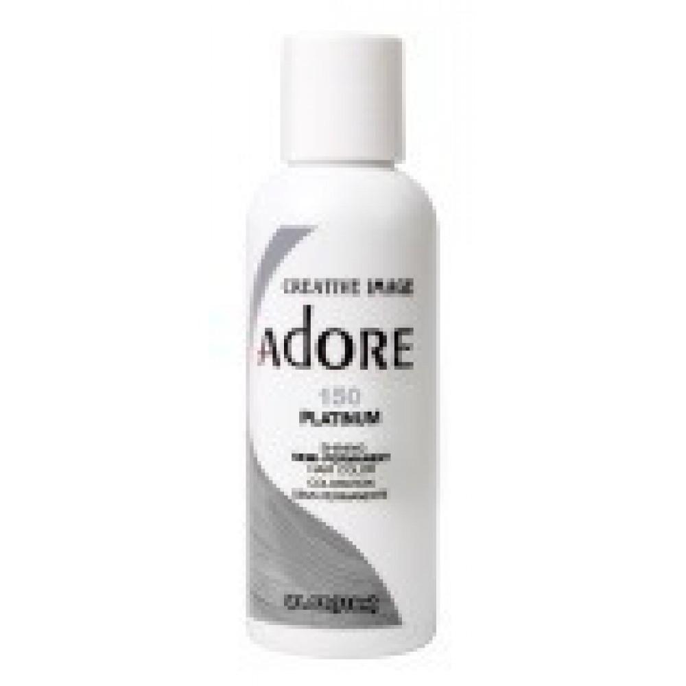 Adore Semi Permanent Hair Color 150 Platinum