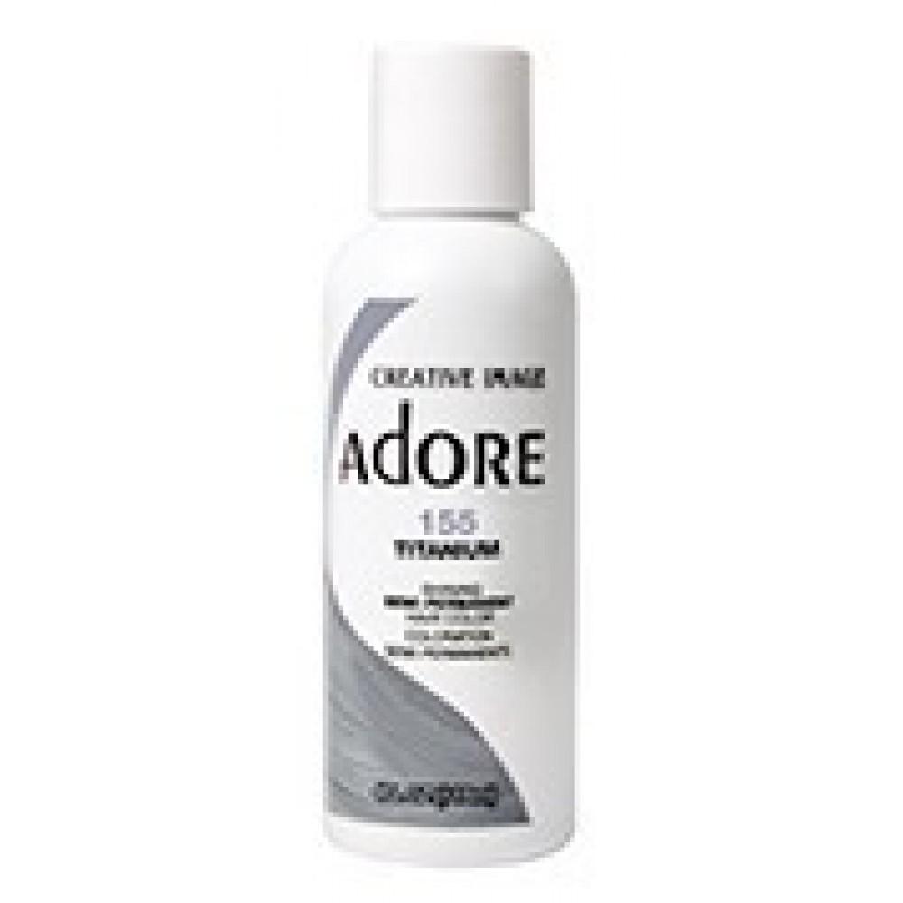 Adore Semi Permanent Hair Color 155 Titanium