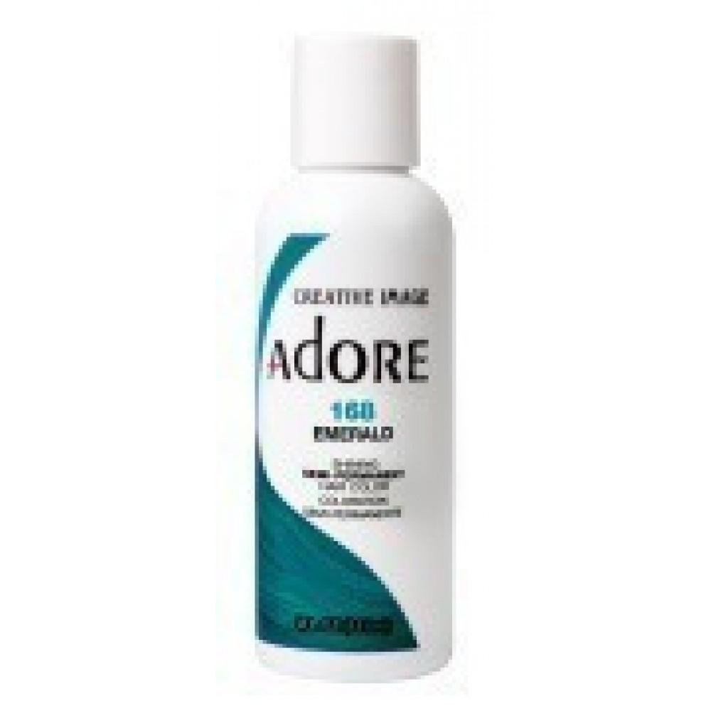 Adore Semi Permanent Hair Color 168 Emerald