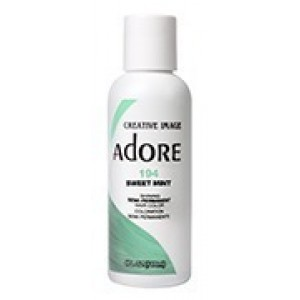 adore semi permanent hair color #194 sweet mint