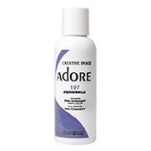 adore semi permanent hair color #197 periwinkle