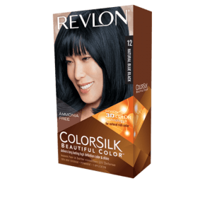 Revlon Colorsilk Beautiful Color Permanent Hair #12 Natural Blue Black