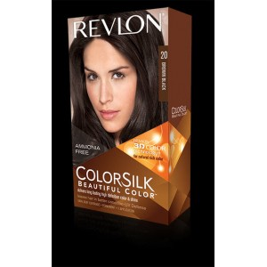Revlon Colorsilk Beautiful Color Permanent Hair #20 Brown/black