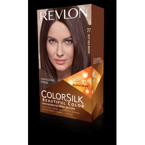 revlon colorsilk beautiful color permanent hair #27 deep rich brown