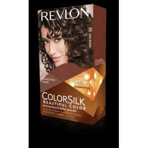 Revlon Colorsilk Beautiful Color Permanent Hair #30 Dark Brown