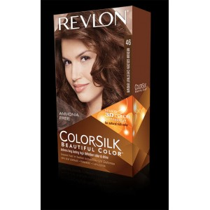revlon colorsilk beautiful color permanent hair #46 medium golden chestnut brown