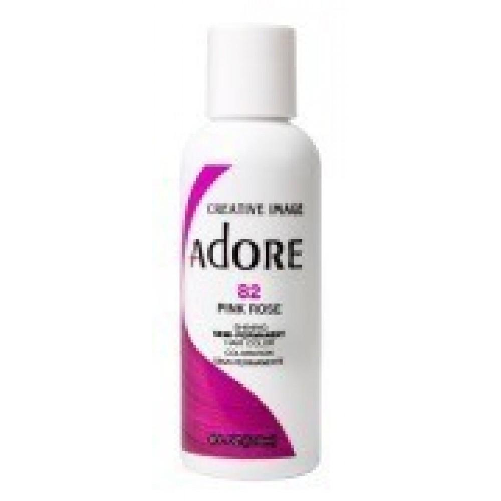 Adore Semi Permanent Hair Color 82 Pink Rose