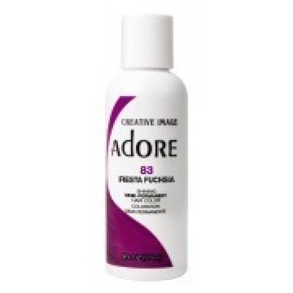 Adore Semi Permanent Hair Color 83 Fiesta Fuchsia