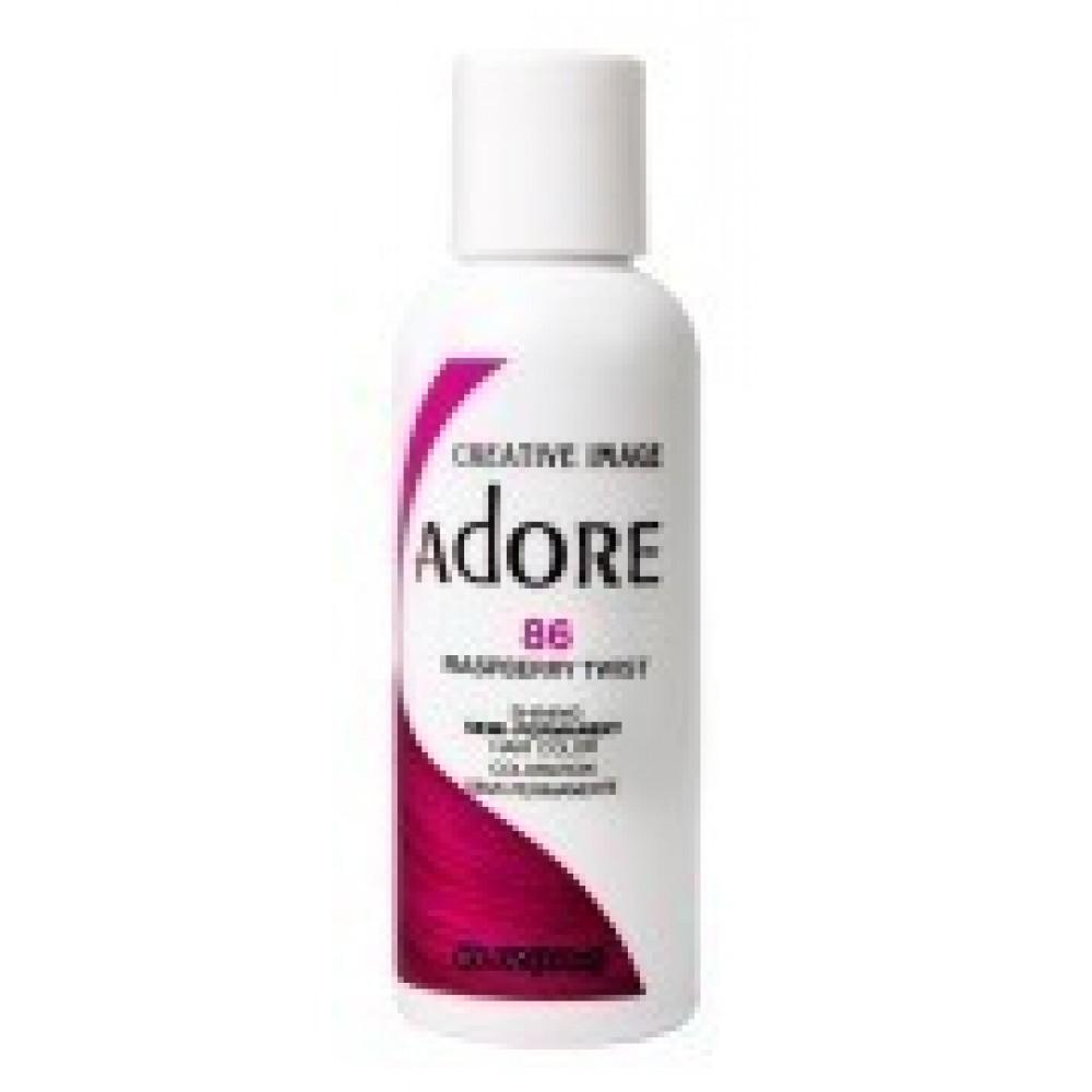 Adore Semi Permanent Hair Color 86 Raspberry Twist