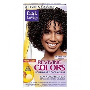 dark and lovely reviving color #395 - natural black