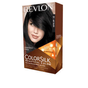 Revlon Colorsilk Beautiful Color Permanent Hair #11 Soft Black