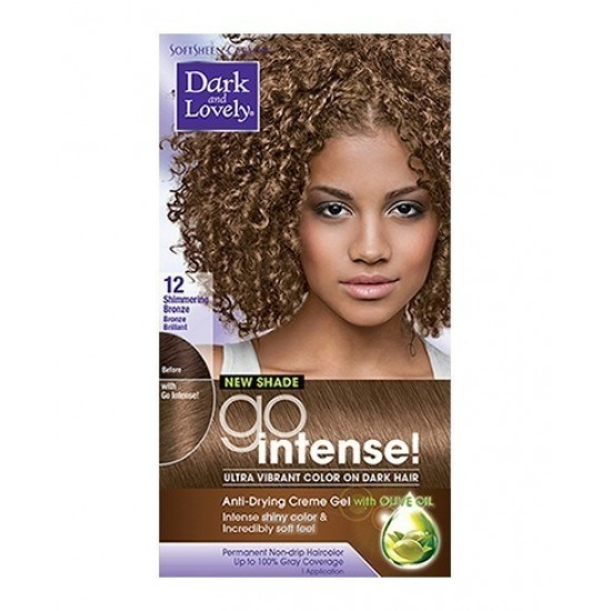 Dark And Lovely Go Intense Hair Color #12 -  Shimmering Bronze