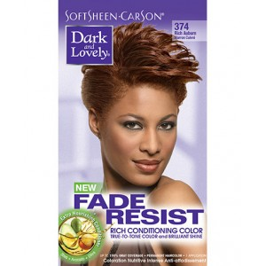 dark and lovely fade resistant rich conditioning color  #374 - rich auburn