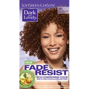 dark and lovely fade resistant rich conditioning color  #391 - brown cinnamon