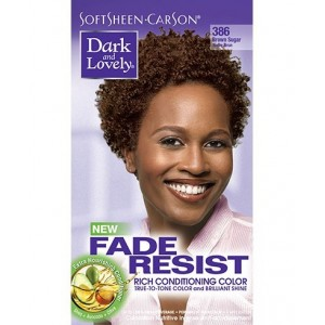 dark and lovely fade resistant rich conditioning color  #386 - brown sugar