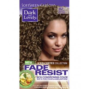 dark and lovely fade resistant rich conditioning color  #352 -  cool latte
