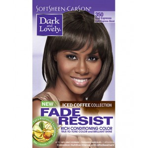 dark and lovely fade resistant rich conditioning color  #350 - iced espresso