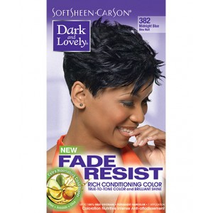 dark and lovely fade resistant rich conditioning color  #382 -  midnight blue
