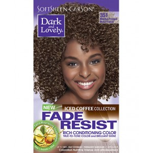 dark and lovely fade resistant rich conditioning color  #351 - mocha frappé