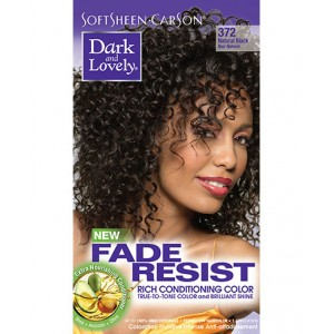 dark and lovely fade resistant rich conditioning color  #372 - natural black