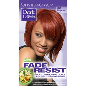 dark and lovely fade resistant rich conditioning color  #394 -  vivacious red