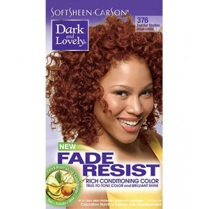 dark and lovely fade resistant rich conditioning color   #376 - red hot rhythm