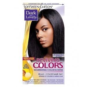 dark and lovely reviving color #391 - radiant black