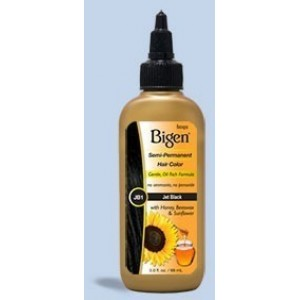 bigen semi permanent hair color #bb1 bluest black