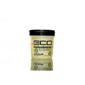 Eco Style Hair Gel Black Castor And  Flaxseed Oil 16 Oz