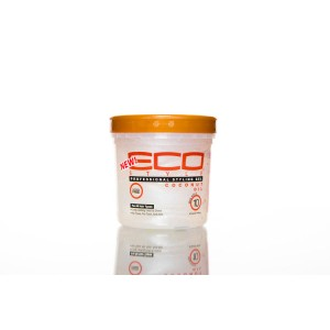 Eco Style Hair Gel Coconut Oil 8 Oz