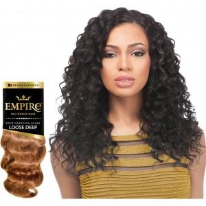 Sensationnel Empire Loose Deep 100% Human Hair Weave