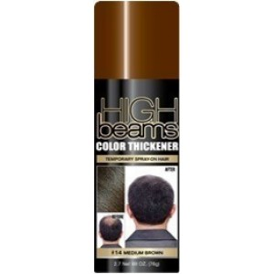 High Beams Color Thickener Temporary Spray - Medium Brown
