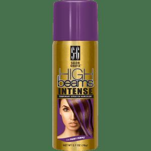 high beams intense temporary spray-on hair color - punky purple