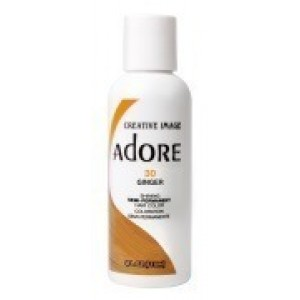 adore semi permanent hair color #30 ginger