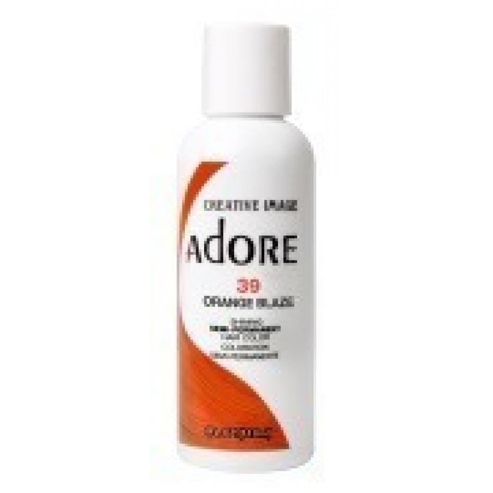 Adore Semi Permanent Hair Color 39 Orange Blaze