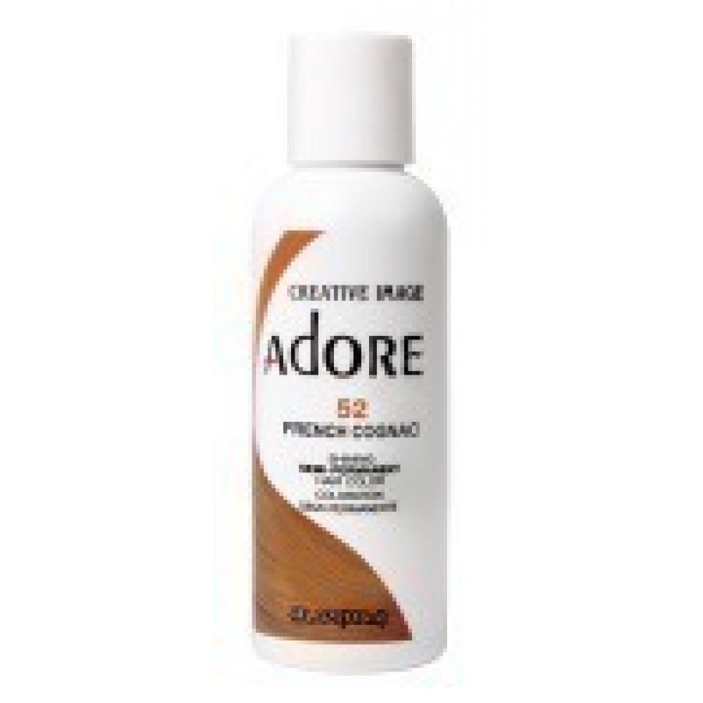 Adore Semi Permanent Hair Color 52 French Cognac
