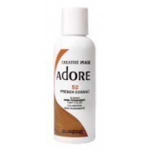 adore semi permanent hair color #52 french cognac