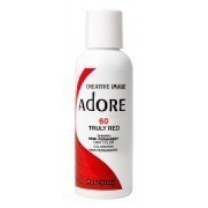 adore semi permanent hair color #60 truly red