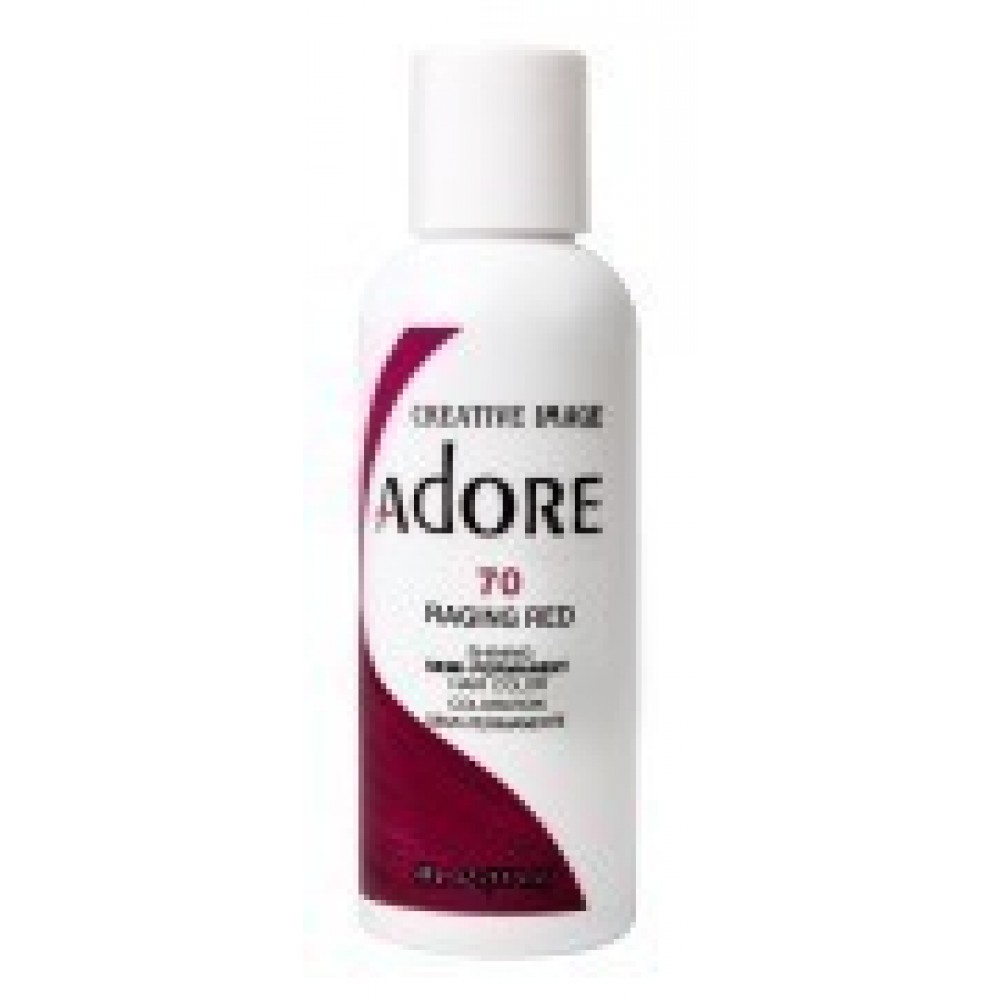 Adore Semi Permanent Hair Color 70 Raging Red