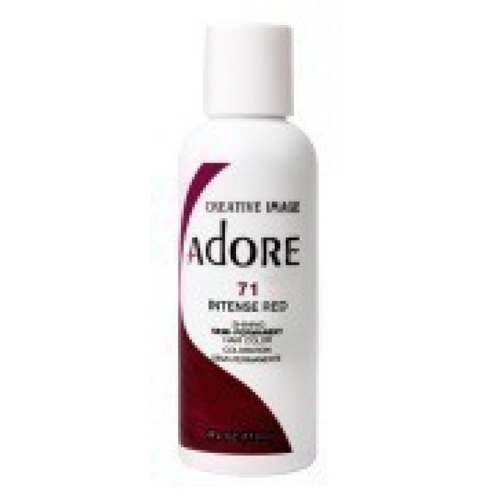 Adore Semi Permanent Hair Color 71 Intense Red