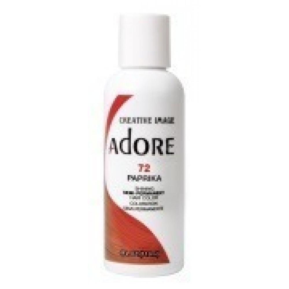 Adore Semi Permanent Hair Color 72 Paprika